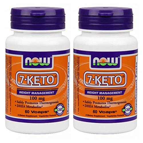 7-KETO LeanGels 100mg-60 cápsulas (paquete de 2)