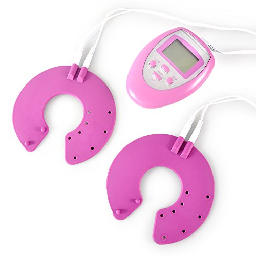 Kit de masaje de Lychee® pulso eléctrico portátil Digital potenciador Natural rosado vibrante agrandamiento de las mamas