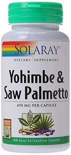 Yohimbe y Saw Palmetto propietario mezcla 490mg por cápsula