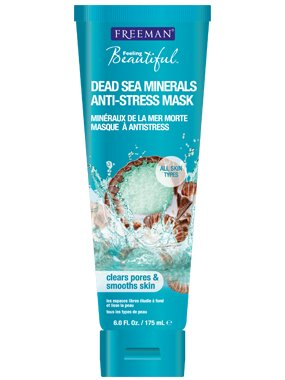 Máscara de Freeman Dead Sea Minerals Facial anti-stress 6 Oz