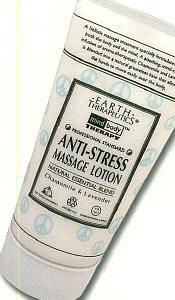 Loción de masaje anti-stress de terapéutica de la tierra 5 Oz