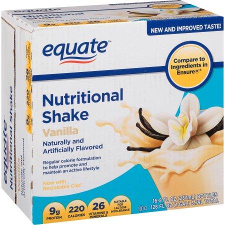Vainilla Nutritional Shake 8 onzas fluidas 16 ct