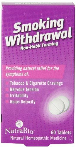 Natrabio fumar retiro tabletas, cuenta 60