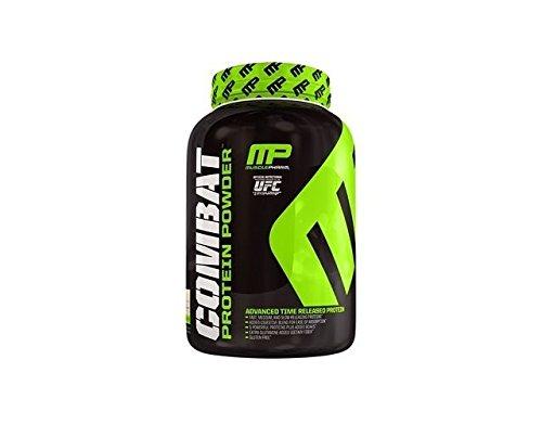 Polvo de proteína de músculo Pharm Combat 5 libras de galletas y crema