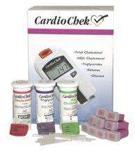 Kit analizador de colesterol cardio Chek arranque con tiras reactivas de colesterol por paneles PTS