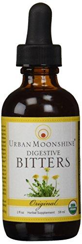 Moonshine urbana orgánica Bitters Gluten libre Original--2 fl oz
