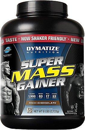 Dymatize Super Gainer masa Chocolate 6 lbs (2, 722g)