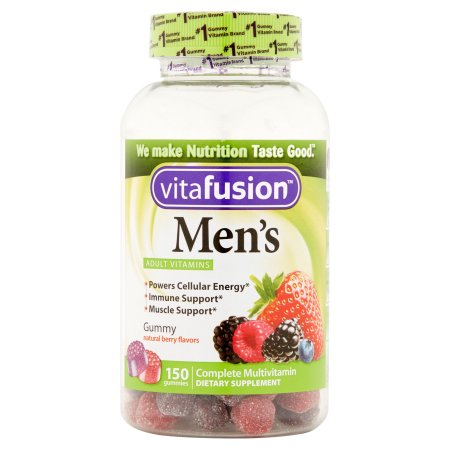 Vitafusion completas Gummies suplementos dietéticos de multivitaminas para hombres 150 recuento