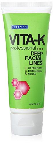 Vita-K profesional Fordeep Facial líneas crema, 2,0 onzas