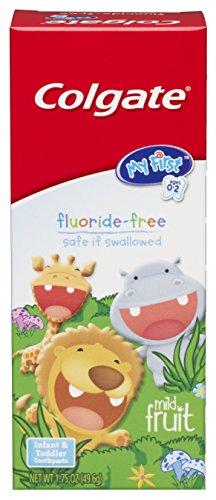 Colgate mi primer - bebé y niño pequeño fruta suave crema dental, cajas de 1,75 onzas (paquete de 6)