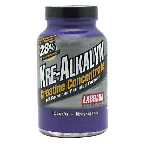 Concentrado de creatina Kre-Alkalyn de labrada - 120 cápsulas