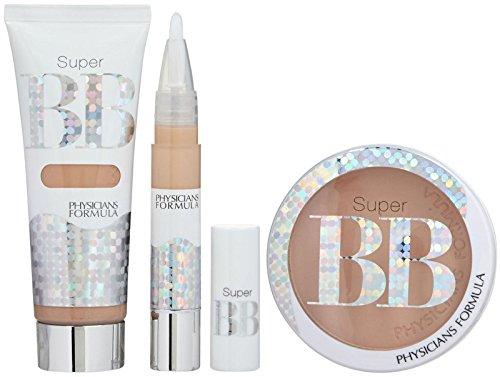 Los médicos BB Super fórmula belleza todo-en-1 Kit de bálsamo - corrector: 0,14 onzas, crema: 1.2 onzas de líquido y polvo: Onza 0,29