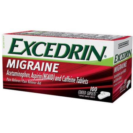 Excedrin migraña Analgésico - Analgésico Aid 100 ct