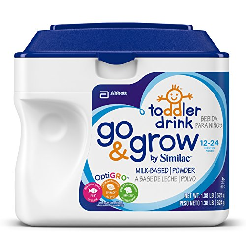 Similac Go & crecer etapa 3 a base de leche en polvo, fórmula, 22 onzas (Pack de 6)(Frustration Free Packaging)