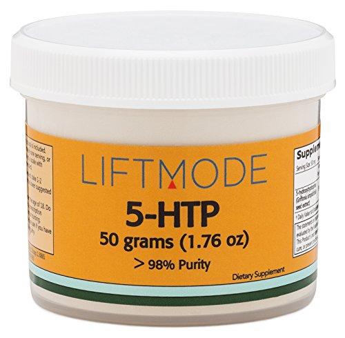 Polvo de 5-HTP - 50 gramos (1,76 Oz) - 98% puro - FBA