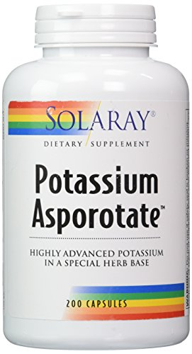 Solaray - Asporotate potasio 99 mg, 200 cápsulas