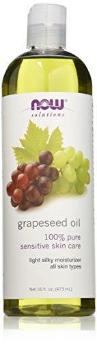 Ahora alimentos aceite de uva, 16 onzas