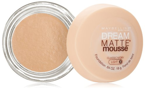 Maybelline New York Dream mate Mousse Foundation, clásico marfil, Onza 0,64
