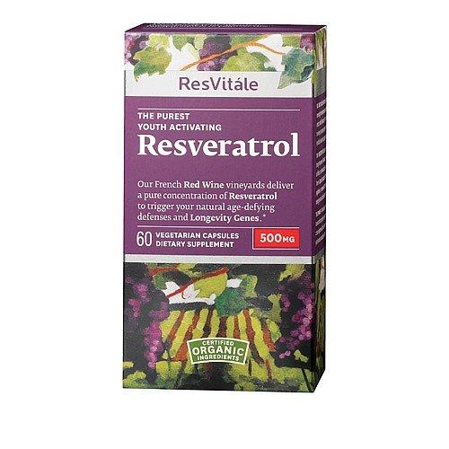 ResVitále Resveratrol 500mg, 60capsules