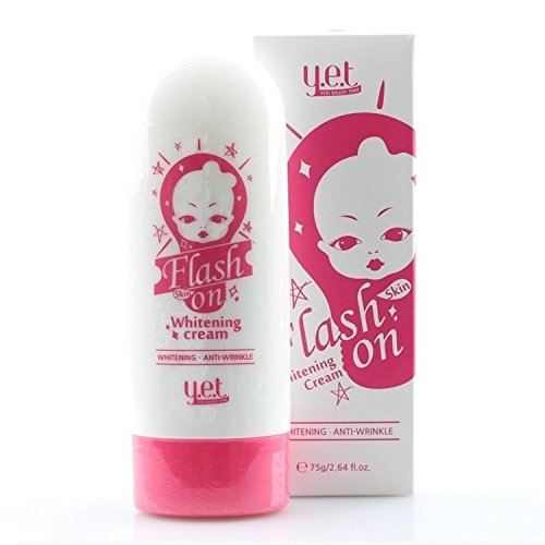 Sin embargo, Flash piel en blanqueamiento Blanqueamiento rápido crema 75g y la iluminación de cosméticos de Corea