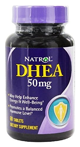Natrol - DHEA 50 mg, 60 comprimidos