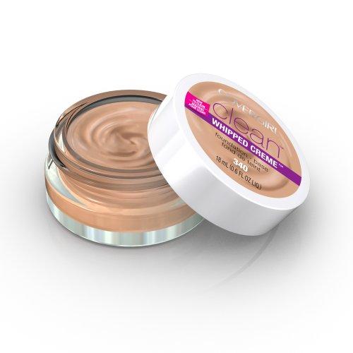 CoverGirl 340 limpio batida Creme Foundation, Beige Natural, 0,6 onzas de líquido