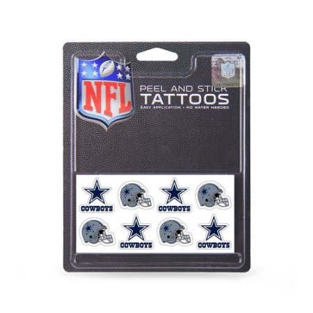 NFL Dallas Cowboys tatuaje Conjunto, de 8 piezas
