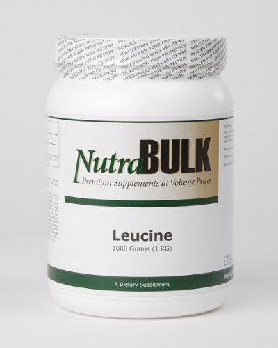 NutraBulk L-leucina de un kilogramo - 1000 gramos