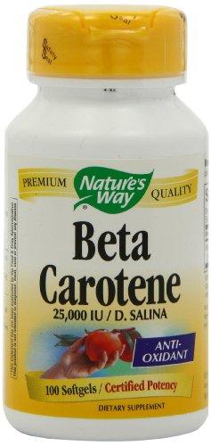 Forma Natural betacaroteno de la naturaleza, 100 cápsulas