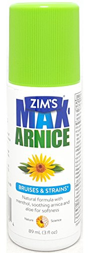 Max roll-on de árnica Zim, 3oz