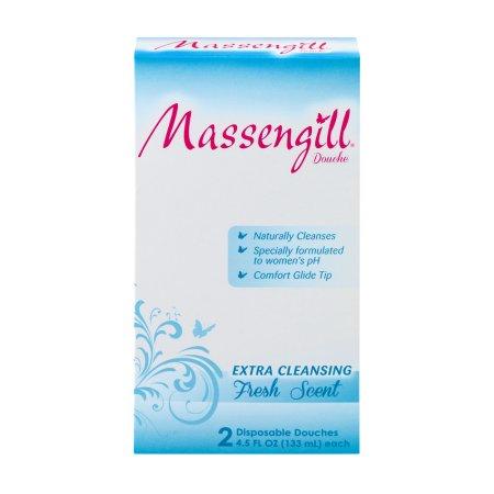 Massengill extra de limpieza desechables Douches aroma 135 ml x 2