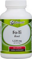 Raíz de Vitacost Fo-Ti--1.220 mg por porción - 100 cápsulas