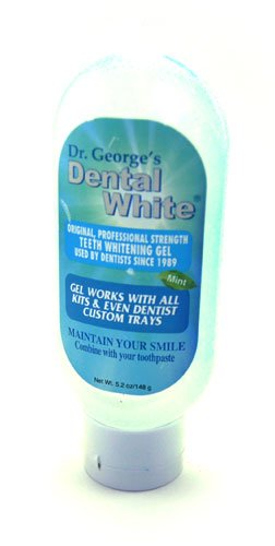 Dental Menta blanca Dr. Jorge con sabor a Gel 5,2 oz.