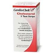 CardioChek colesterol Test Strips 3 ea
