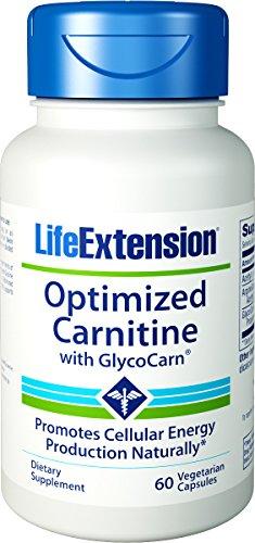 Extensión de vida optimizado carnitina con Glycocarn 60 vegetariana cápsulas