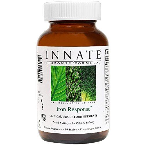 Respuesta innata - hierro, ayuda a mantener niveles saludables de hierro en la sangre, 90 tabletas