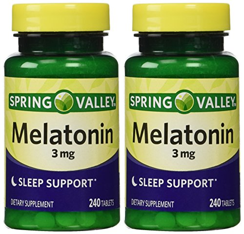 Spring Valley - Melatonina 3 mg, tabletas de 480, Twin Pack