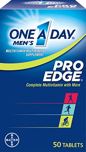 Edge Pro Multivitaminico, tabletas 50 botella de uno-A-Day Men