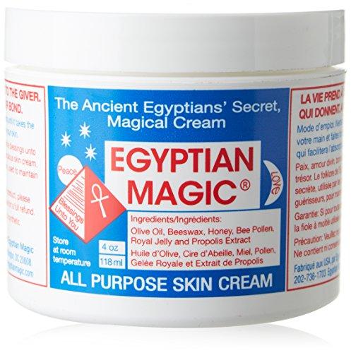 Egipto mágico para todo uso de la piel crema de tratamiento Facial, 4 onzas