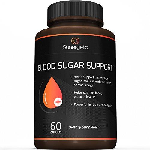 Mejor suplemento de soporte de azúcar en la sangre - apoyo ayuda a azúcar de sangre sano y los niveles de glucosa - incluye Extracto de melón amargo, cromo, Mora, canela y alfa lipoico ácido (60 cápsulas)