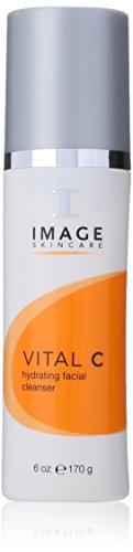 Imagen Vital C Limpiador Facial hidratante, 6 onzas de líquido