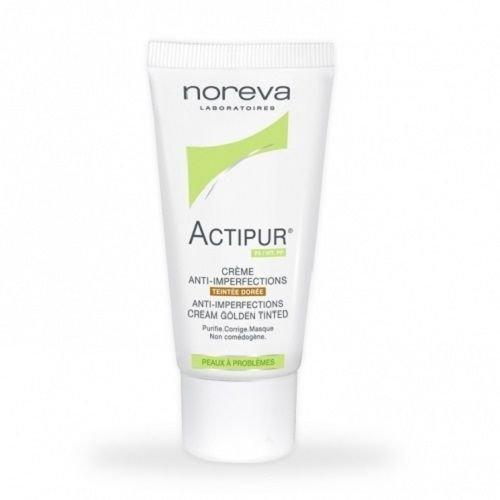 Crema anti-imperfecciones de Noreva Actipur teñida de Dore (oro) 30 ml piel Capital
