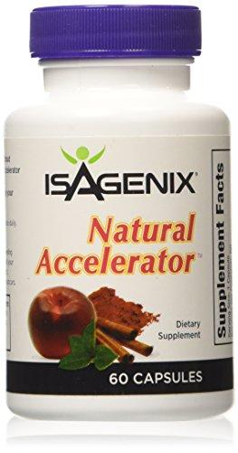 ISAGENIX acelerador NATURAL 60 cápsulas