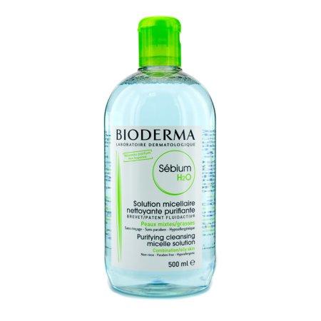Bioderma - Sebium H2O purificación de soluciones de limpieza de micelas (Para piel mixta - grasa) - 500 ml - 167 oz