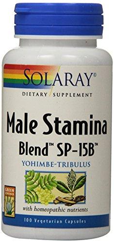 Solaray hombre aguante mezcla SP-15B cápsulas, cuenta 100