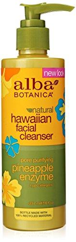 Alba Botanica enzima Limpiador Facial piña - 8 fl oz