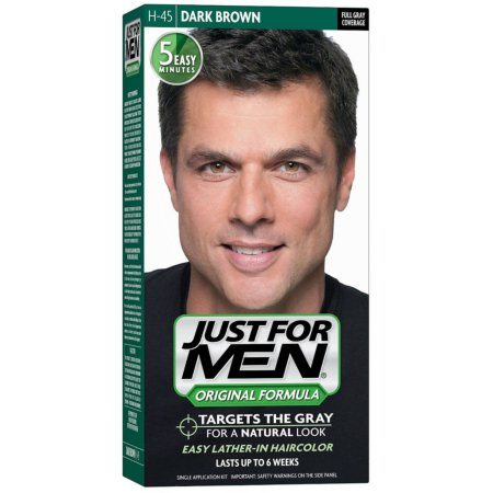 JUST FOR MEN Hair Color H-45 Dark Brown 1 Each (Pack of 3)