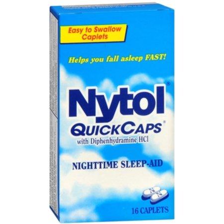 NYTOL QuickCaps 16 Caps (paquete de 6)
