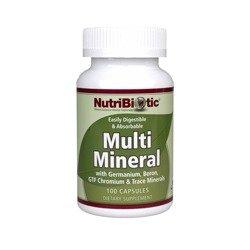 Nutribiotic Multi Mineral Caps, cuenta 100