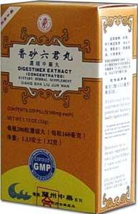 Extracto de Digestinex (Xiang Sha Liu Jun Wan) 200 pastillas X 12